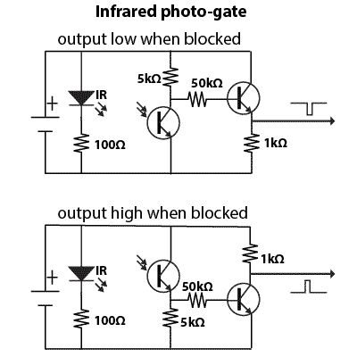 Infrared photogate circuit diagrams ltr301 lte302 wiring diagram,lte \u2022 woorishop co  at gsmportal.co
