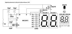 Arduino Voltage Meter Circuit
